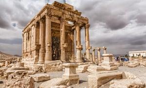 The Temple of Baalshamin, Palmyra