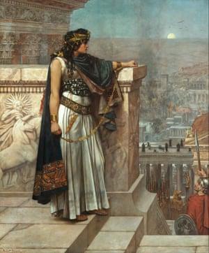 Zenobia's Last Look Upon Palmyra, by Herbert Gustave Schmalz.