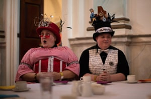 Guests at The Mad Hatters Tea Party