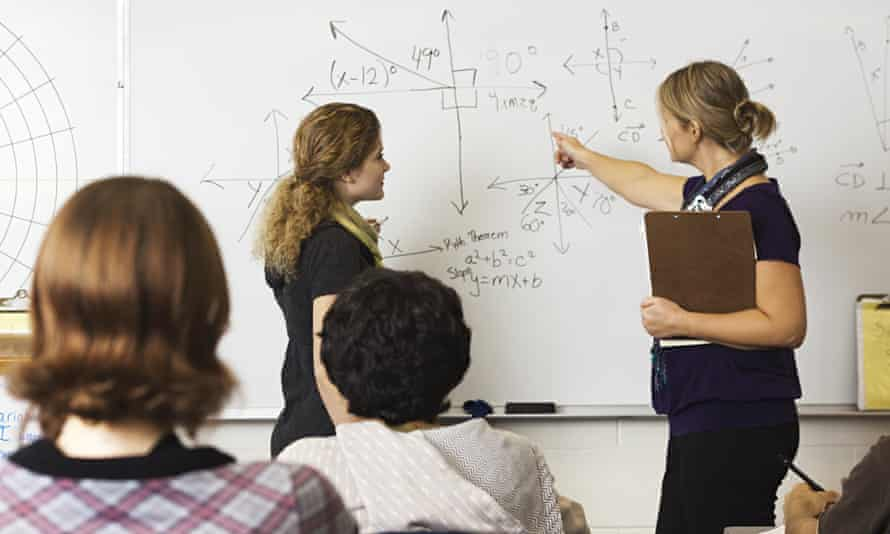 Maths teachers are in short supply as would-be educators turn to the private sector.
