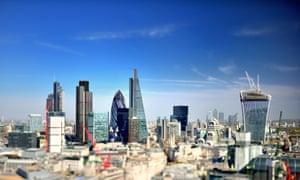 Skyline city of London