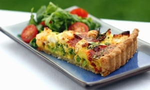 Rarely has a food so badly needed a side dish – pair your quiche with a cool, crunchy salad or slaw.