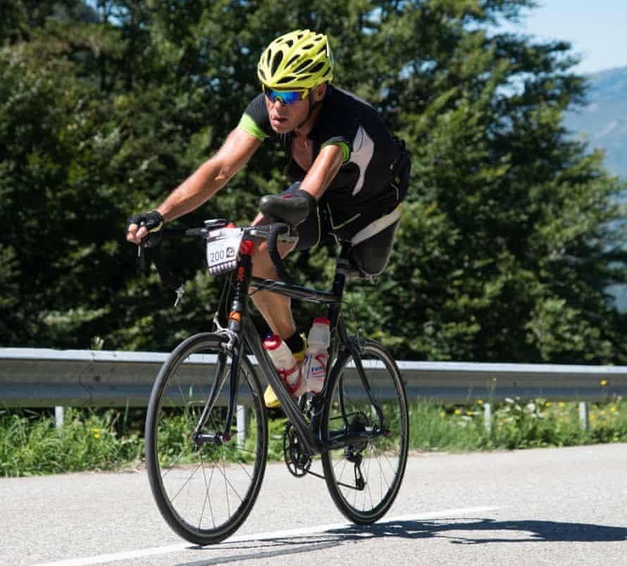 Christian Haettich on Haute Route