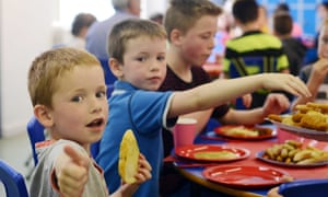 For brothers Declan, Aiden and Scott Waters the lunch they get each day at Barrhead high school's holiday club is a 'lifesaver'.
