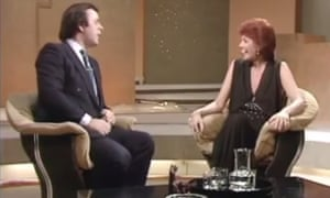 Cilla Black on Wogan, 1983.