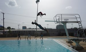 Houston Hills swimming pool