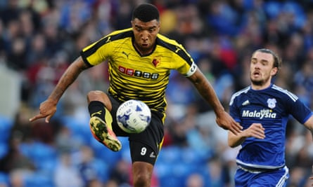 Watford's striker Troy Deeney is capable of thriving in the Premier League.