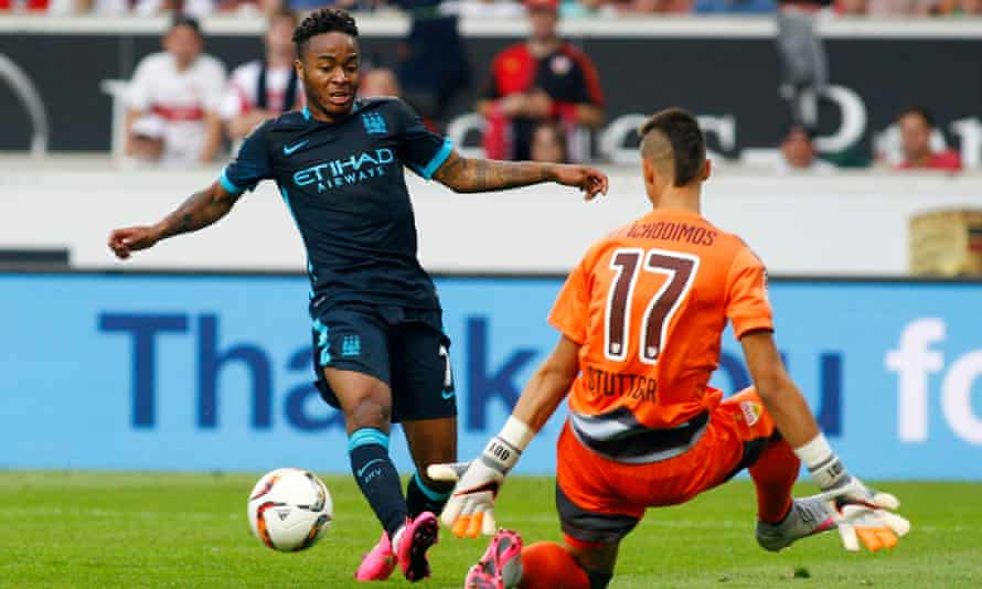 Raheem Sterling will hope to match the expectations generated by his £49m move to Manchester City.