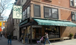 A coffee shop in Park Slope, Brooklyn
