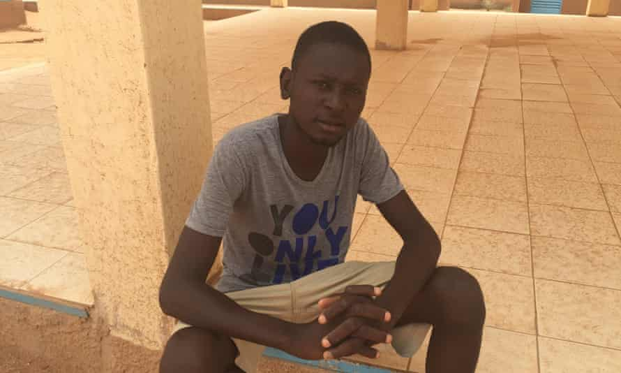 Pape Demba Kebe, a Senegalese welder