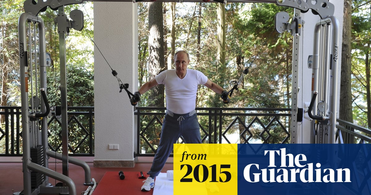 Political Heavyweight Vladimir Putin Working Out In A Gym In Pictures World News The Guardian