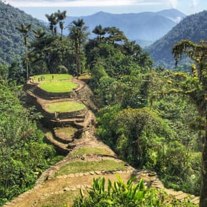 A view of the upper chambers of Teyuna (The Lost City), Colombia.