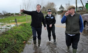 David Cameron in Dunlop wellies from Asda, an emergency non-posh purchase before a visit to the flooded Somerset Levels in 2014