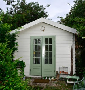 Emma Mitchell's shed.