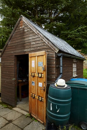 'A woman's shed is her castle.'