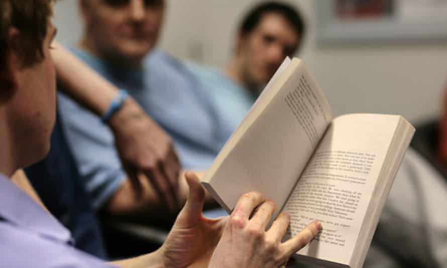 a reading group in Wandsworth prison.