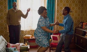 Unconditional love … Lenny Henry, Cecilia Noble and Kascion Franklin as the Fearon family in Danny a