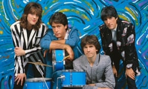 Katrina and the Waves, with Katrina Leskanich, left, and Kimberley Rew, second fromright.
