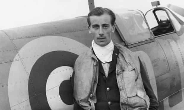 Flying Officer Nevill Duke of No92 East India Squadron, photographed by Cecil Beaton.
