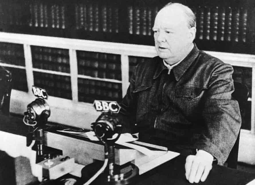 Winston Churchill in 1940.
