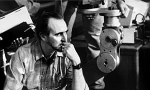 Wes Craven on the set of Vampire in Brooklyn 1995.