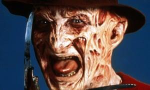 Robert Englund as Freddy Krueger in A Nightmare on Elm Street, 1984.