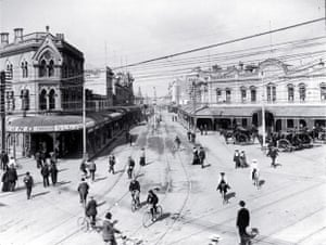 Christchurch back when it was known as 'cyclopolis'