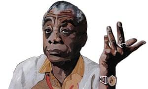 James Baldwin, a literary giant.