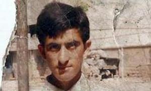 Shafqat Hussain, in a photo taken before he left Muzaffarabad more than 10 years ago.