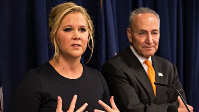 Amy Schumer calls for tighter gun control after Trainwreck shootings |  Culture | The Guardian
