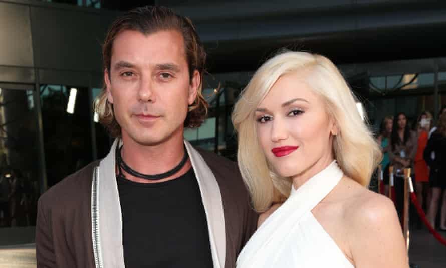 Musicians Gavin Rossdale, left, and Gwen Stefani