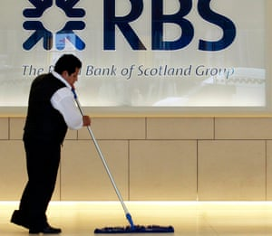 Cleaning up the mess at RBS?