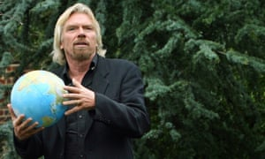 Naomi Klein says it is unrealistic to rely on business leaders - including Richard Branson - to find solutions to climate change.