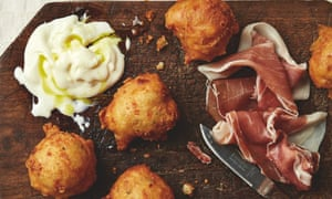 Yotam Ottolenghi's coccoli: 'Traditionally served with cured ham and stracchino.'