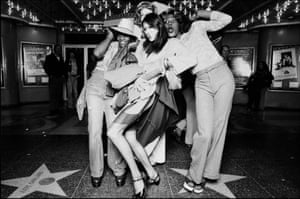 Ave Pildas. Hollywood Blvd. Halloween, 4 Trannies,  1974.