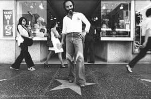 Ave Pildas. Hollywood Blvd. On Stars 'Ave', 1974.