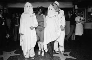 Ave Pildas. Hollywood Blvd. Halloween KKK, 1974.