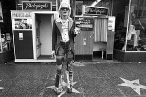 Ave Pildas. Hollywood Blvd. Photomat, Patch Jeans, 1974.