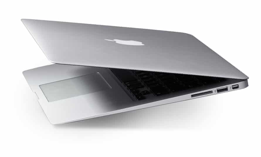 A MacBook Air.