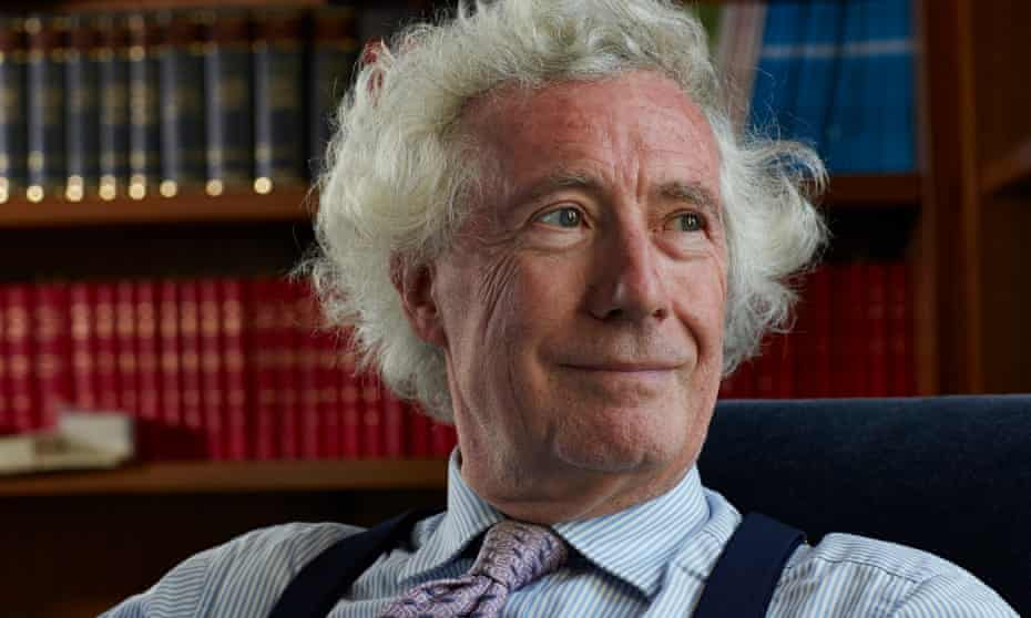 Lord Jonathan Sumption, justice of the Supreme Court.