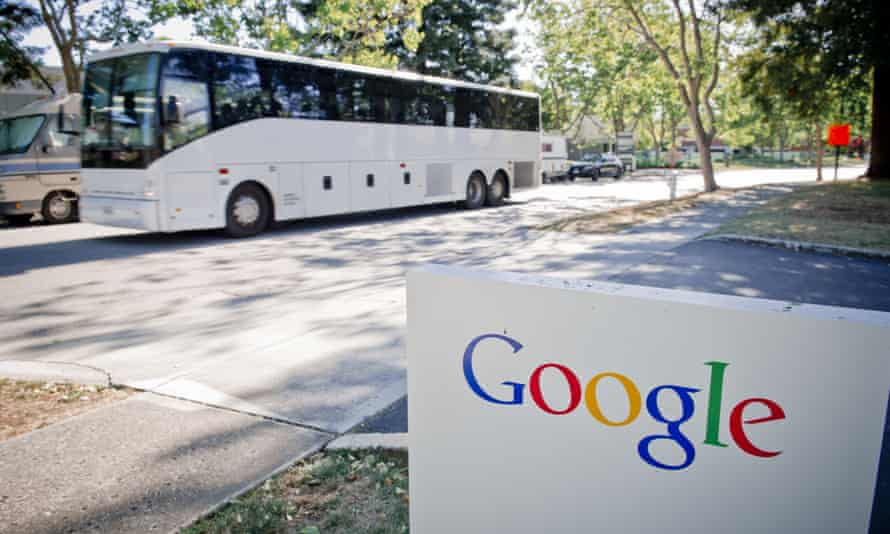 Despite ongoing protests from the local community, 6,400 of Alphabet's 11,000 Bay Area employees use the corporate fleet of 140 biodiesel-fueled buses to get to work each day.