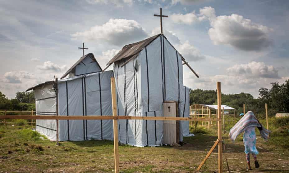 The Ethiopian Orthodox church in Calais.