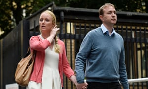Libor trial: Tom Hayes with wife Sarah