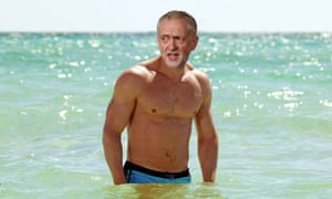 Jeremy Corbyn as James Bond