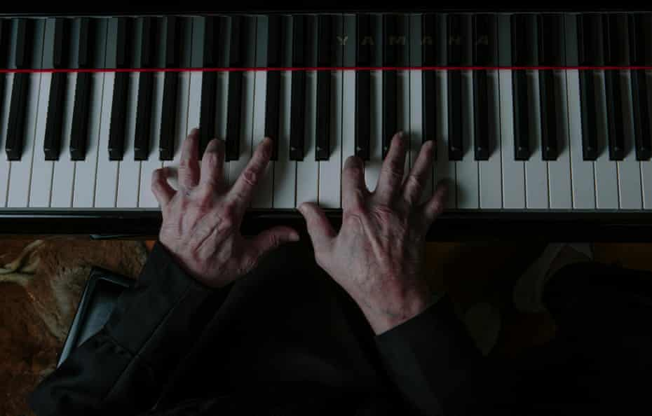 Jerry Lee Lewis on the piano