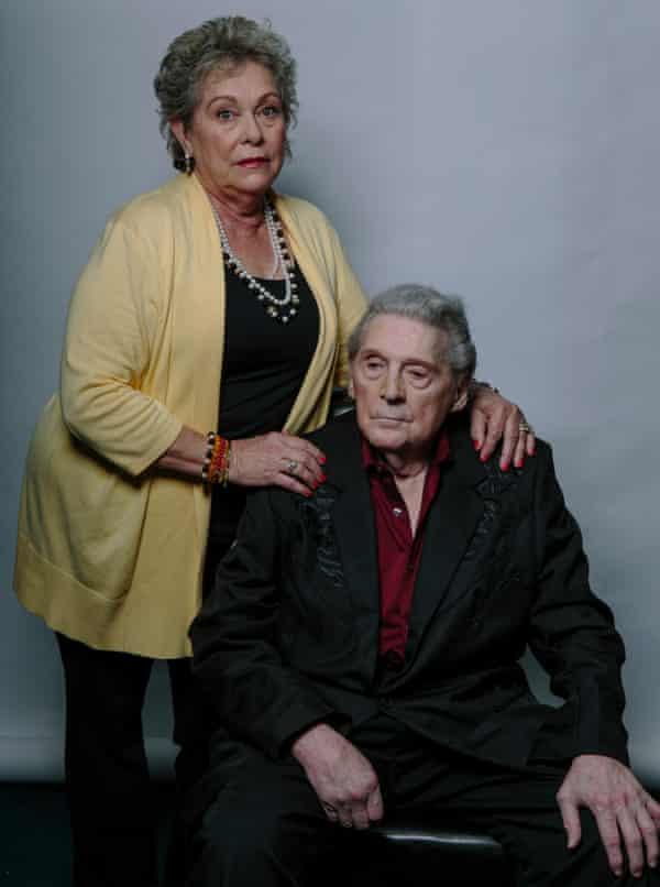 Jerry Lee Lewis met vrouw Judith