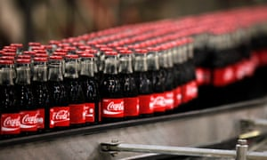 Coca Cola Hellenic Bottling among FTSE losers.