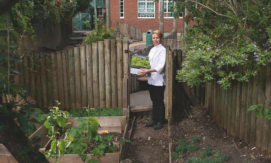 Gayhurst's chef, Nicole Pisani.