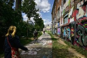 Graffiti in Plagwitz.