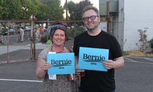 Bernie fans